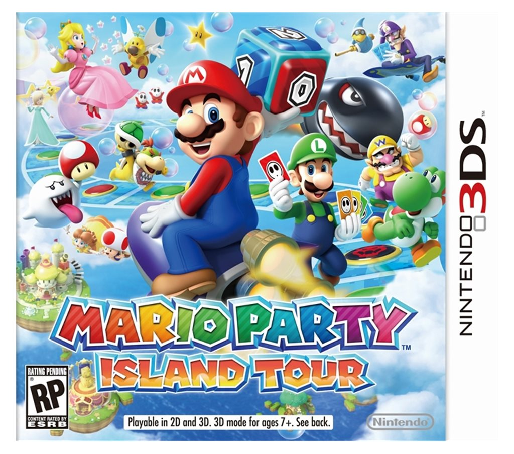 Mario Party Selects Nintendo DS 3D game | Mutual